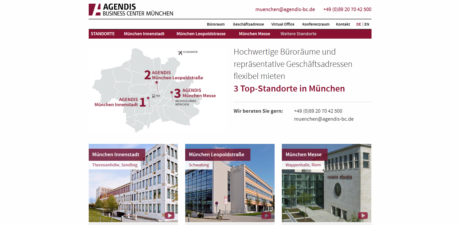 Agendis Business Center München