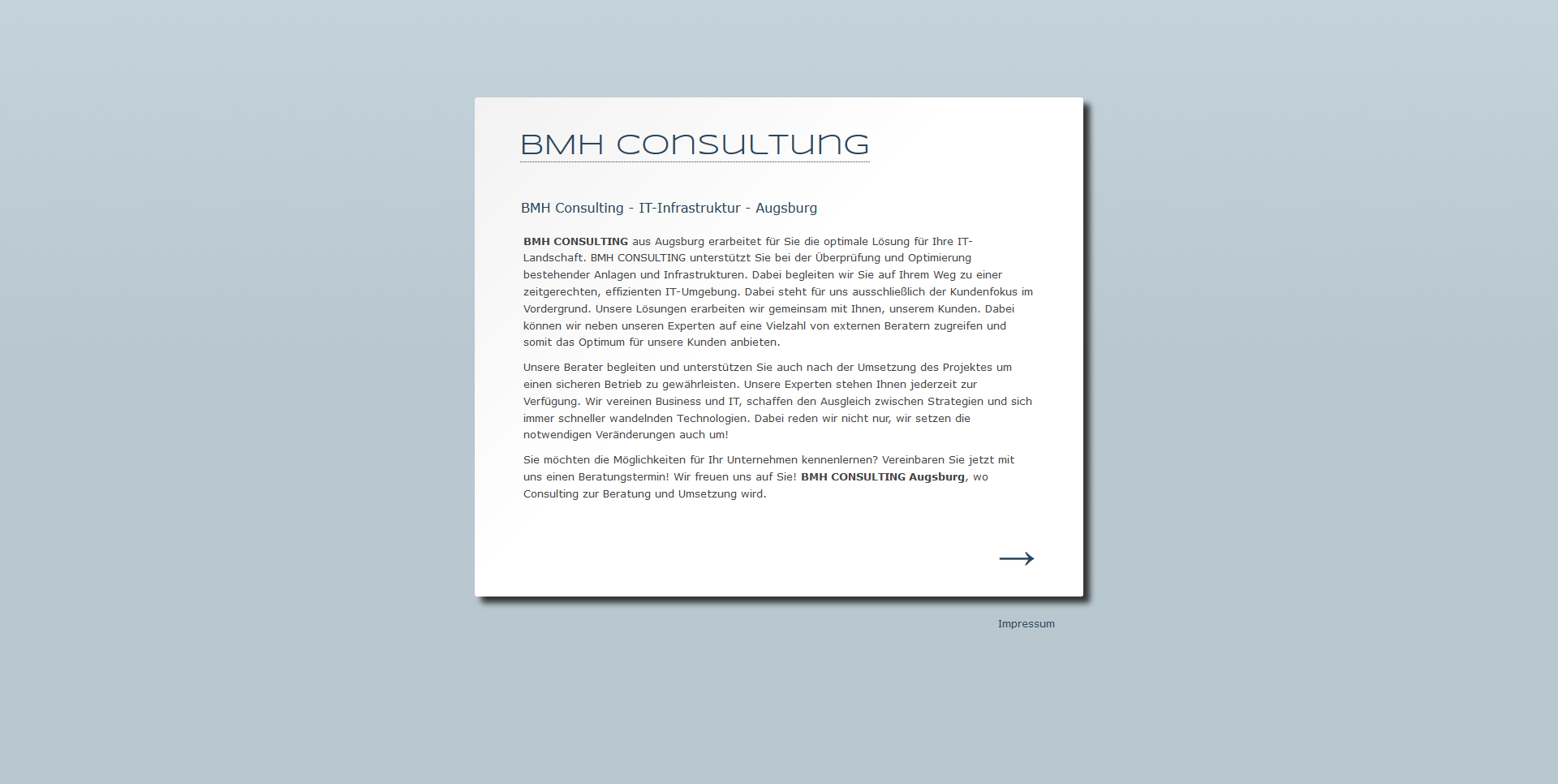 BMH Consulting
