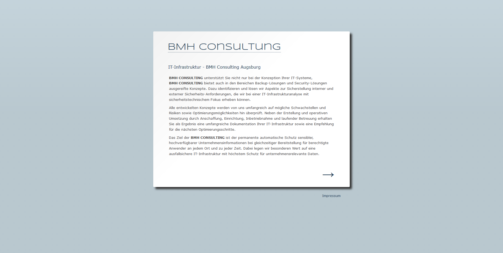 BMH Consulting Heinrich