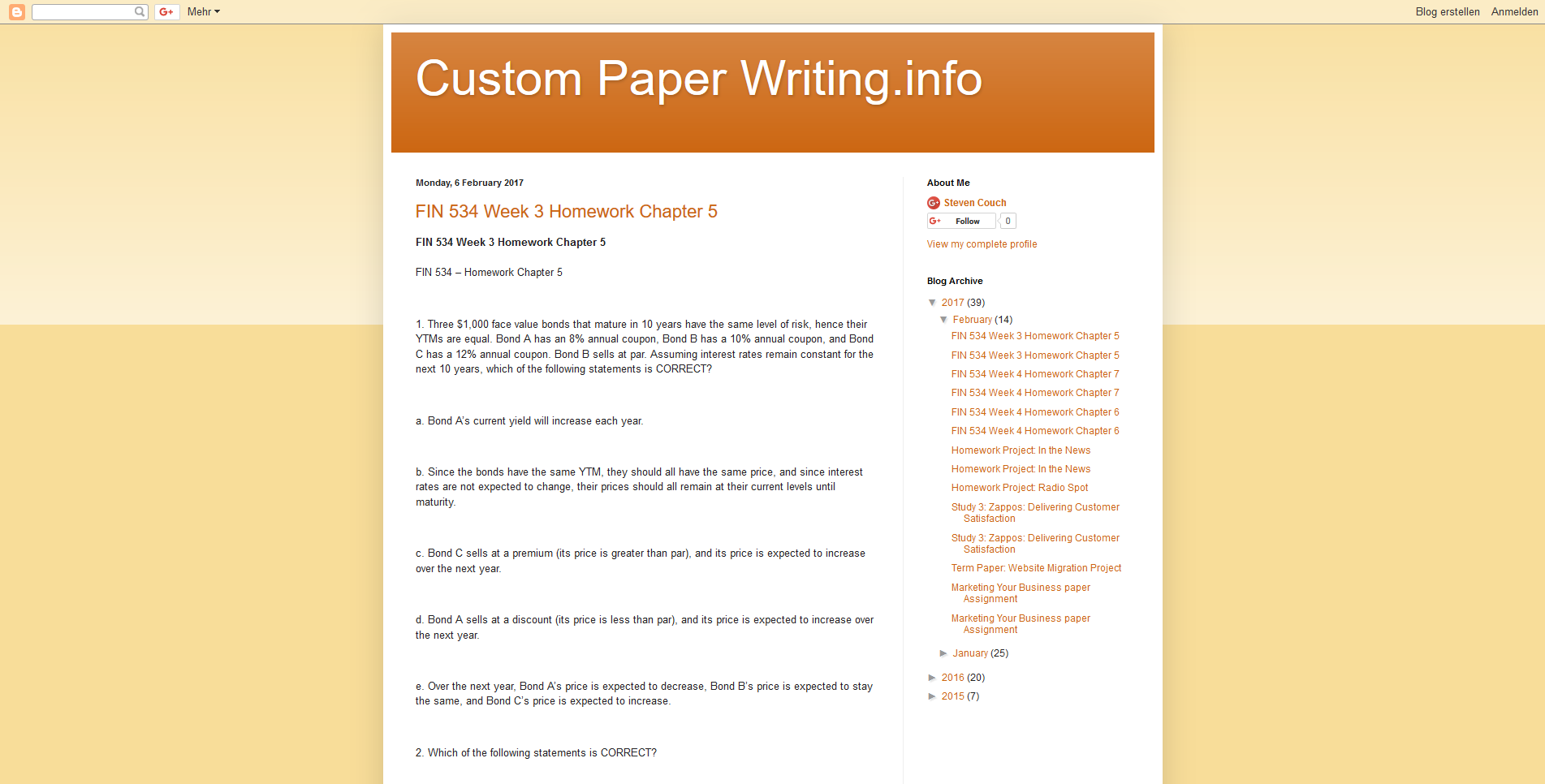 Custom College Papers, Homework and Assignment Hel