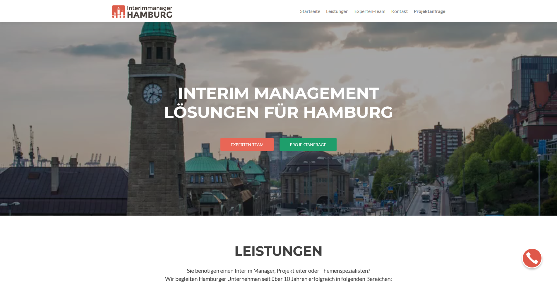 Interimmanager Hamburg