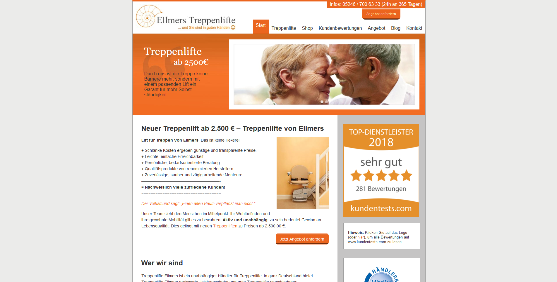 Ellmers Treppenlifte