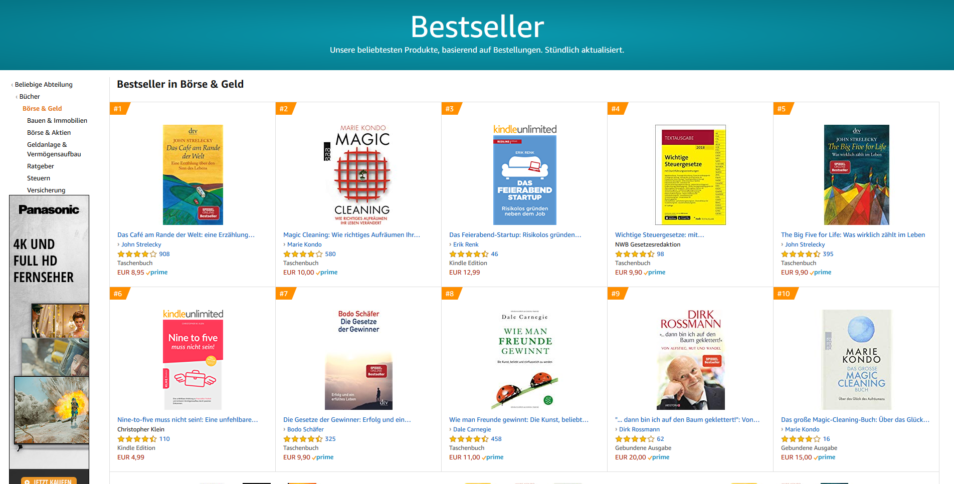 Bestseller in Investmentfonds