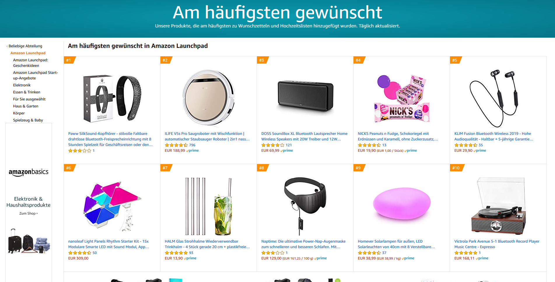 Shopping Trends DVD und Blu-ray