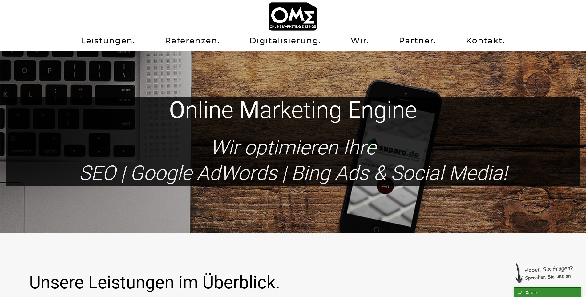 Online Marketing Engine